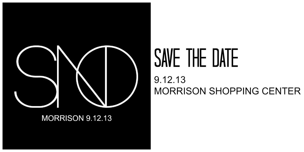 SAVE THE DATE SNO